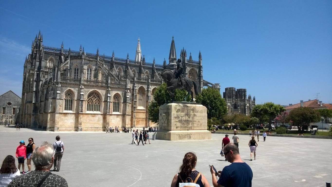 Das Kloster Batalha stand auf der Liste der besuchten Sehenswürdigkeiten und historischen Stätten