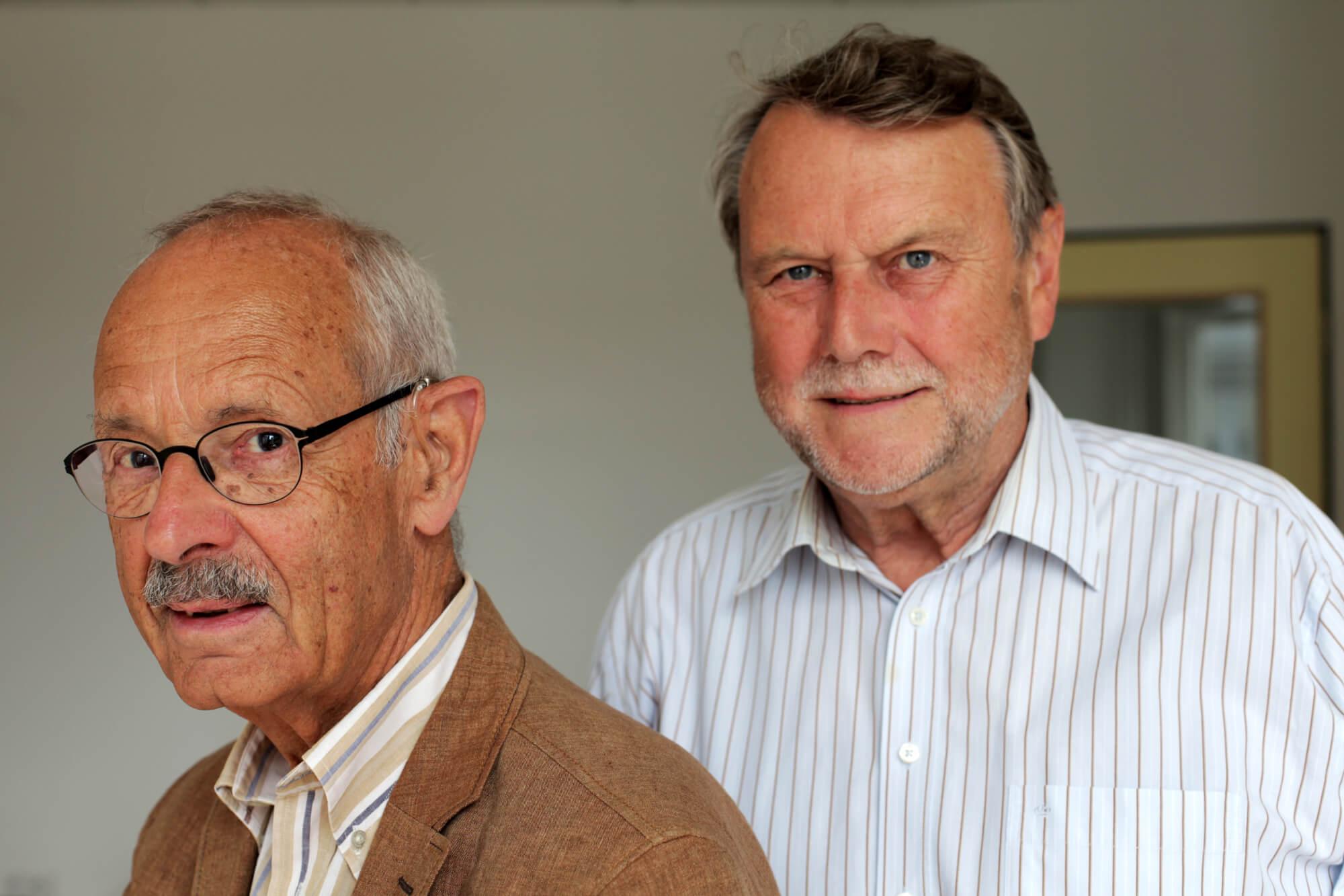Jules Vleugels (l.) und Clemens Schöpker (r.)
