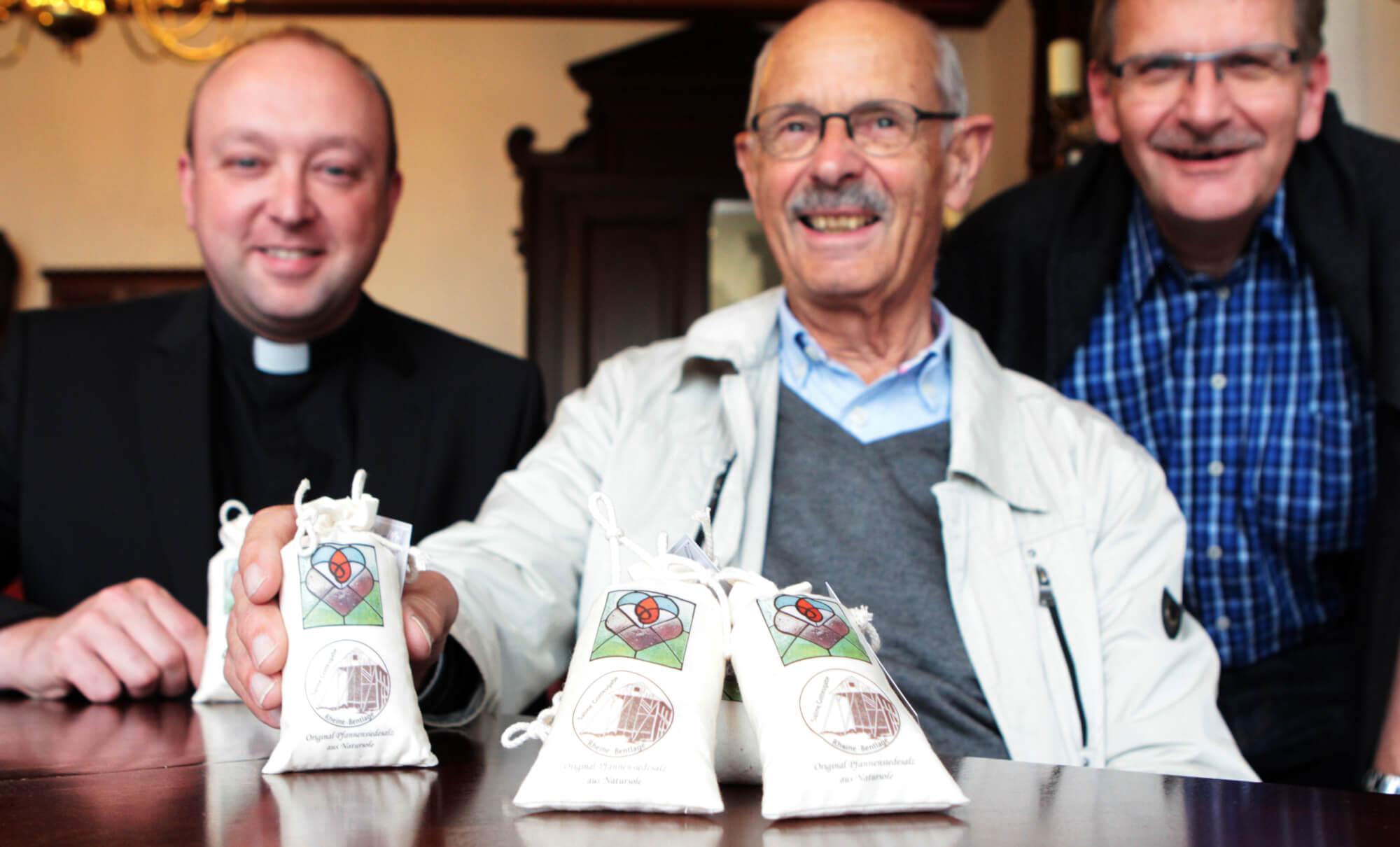 Bentlager Salz als Geschenk für Firmlinge in der Schweiz.
